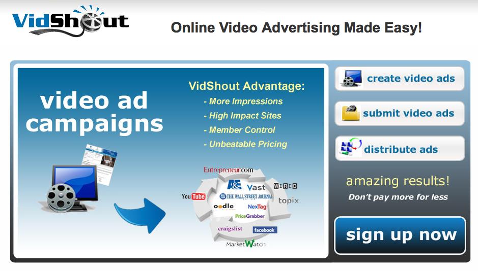 Vidshout – online videoreklamer på en nem og hurtig måde