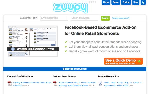 Zuupy – nu kan dine kunder spørge deres venner til råds