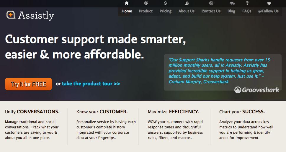 Assistly.com – kundeservice og support på en nem måde