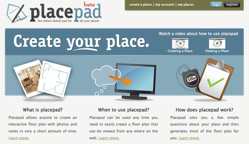 Placepad – plantegning på 10 min