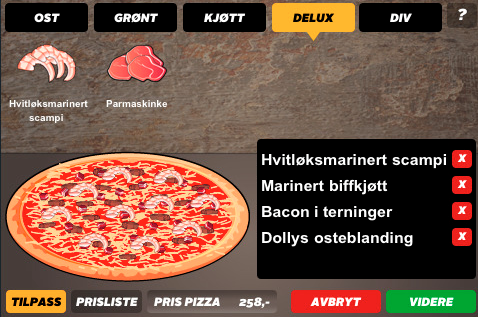 Fjollet fredag – byg din egen pizza