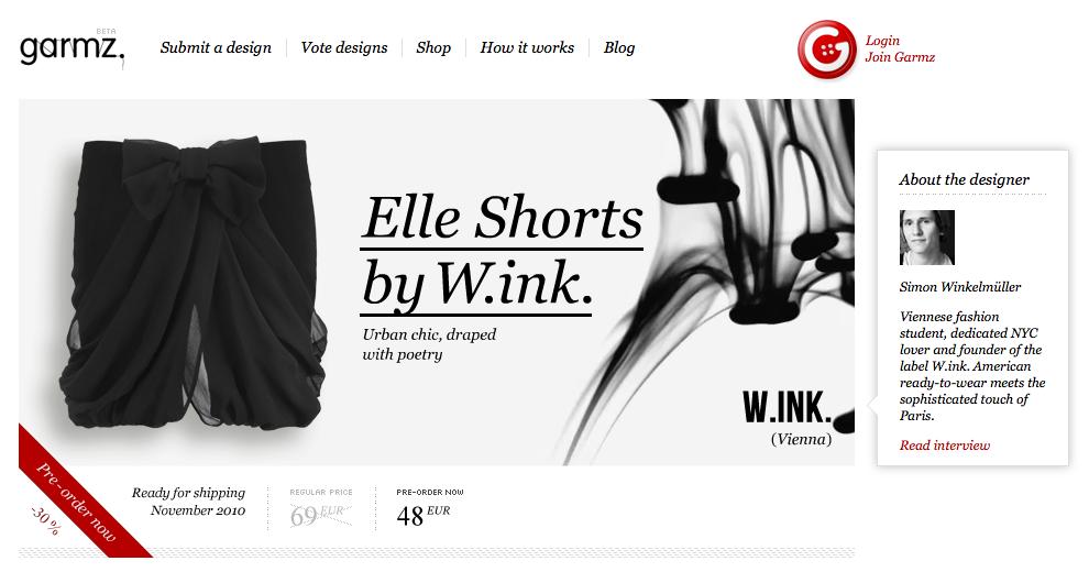 Modetrends på nettet 5: Godt nyt for designer-startups