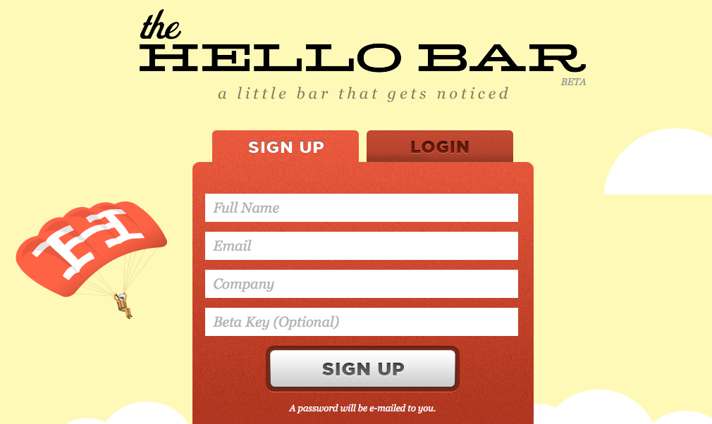 TheHellobar – En ny måde til call to action
