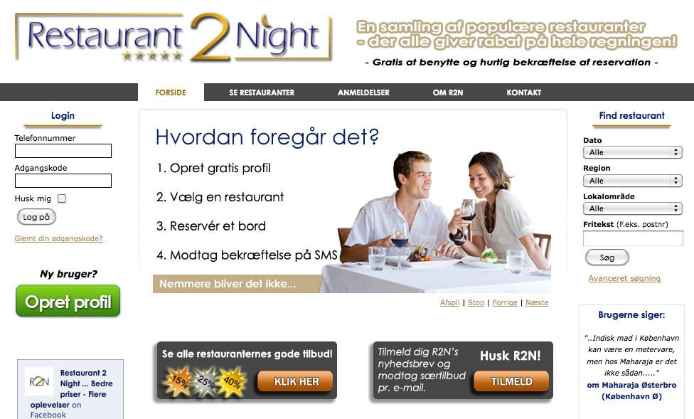 Restaurant 2 Night – sådan scorer du en billig middag