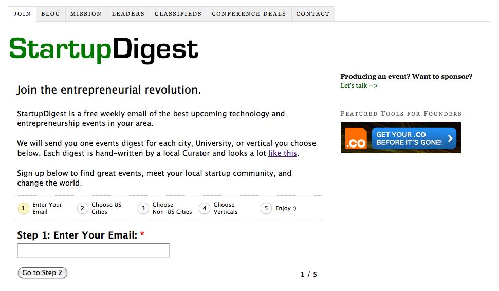 Interview med StartupDigest – Fra 24 til 75.000 modtagere