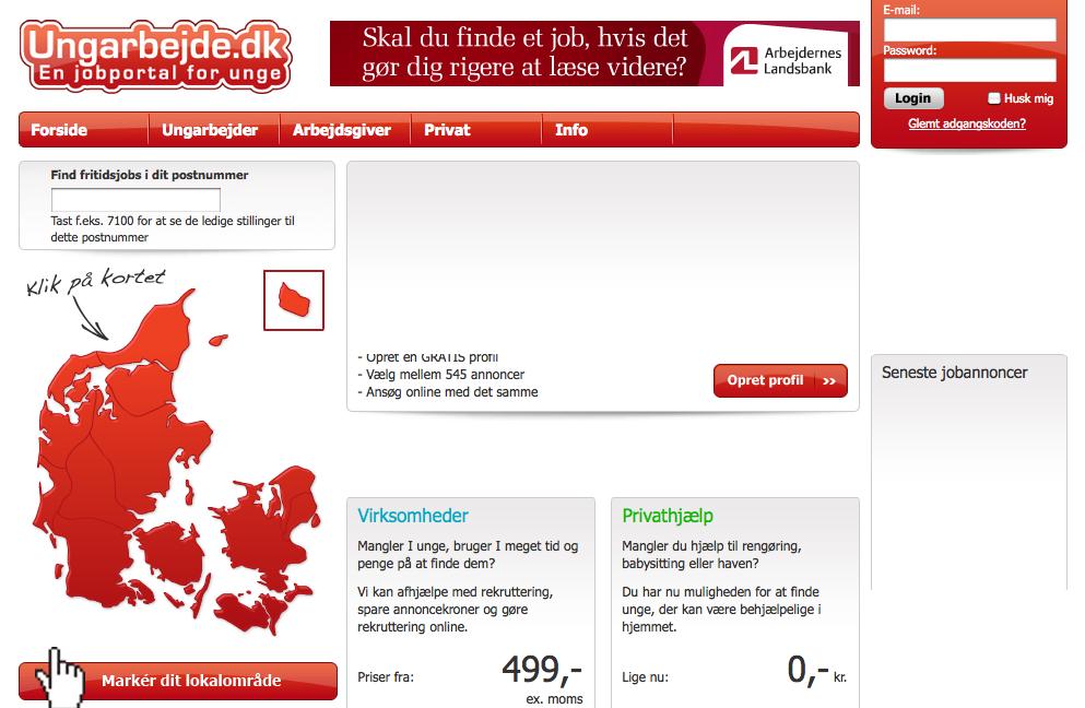 Breaking news: det prisvindende startup Ungarbejde.dk solgt