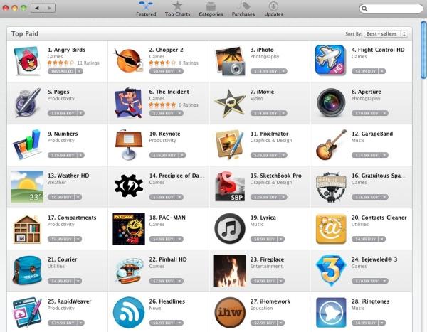 Mac App Store og hvad betyder det for startups