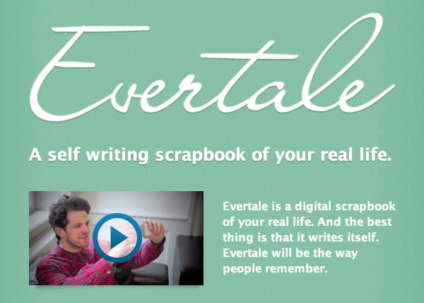 Evertale: Online scrapbogen af dit virkelige liv