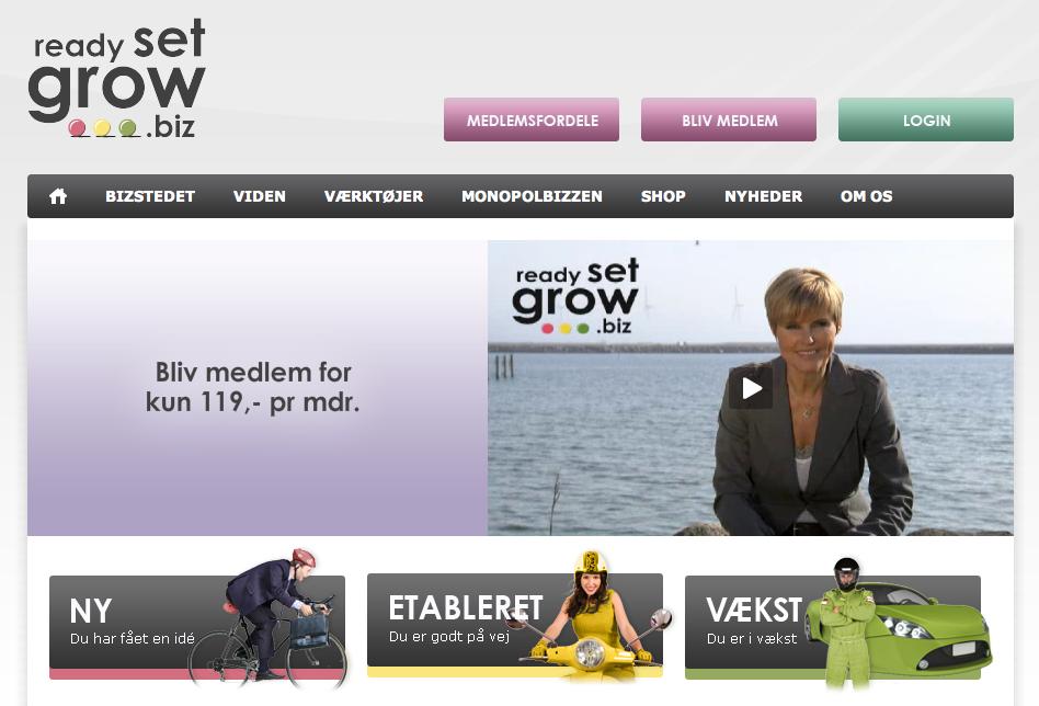 Ready-set-grow.biz – iværksætterportal med ben i næsen?