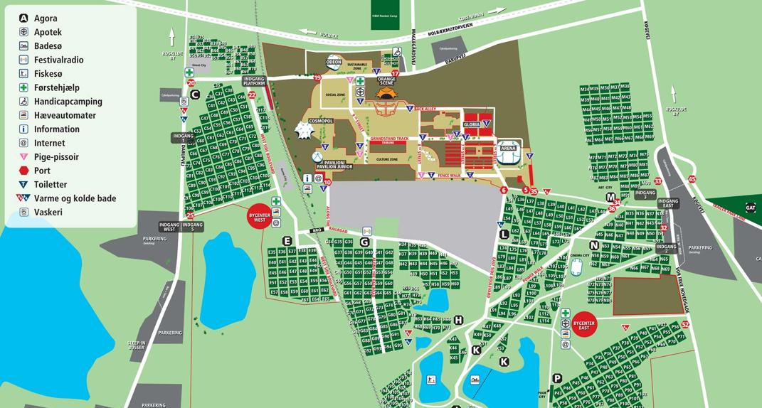 Toiletapp.dk forbedrer toiletoplevelsen på Roskilde Festival