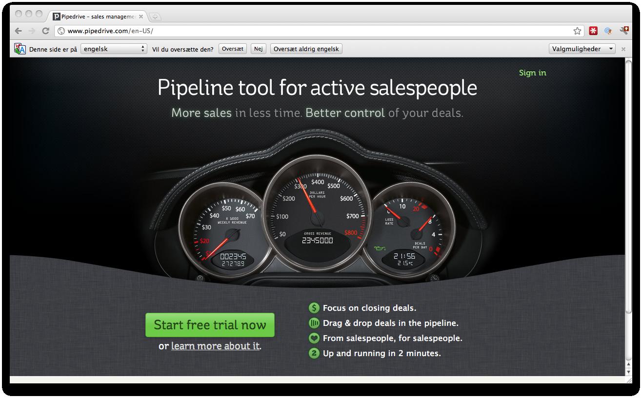 Pipedrive – Salg får verden til at dreje rundt – også for din startup