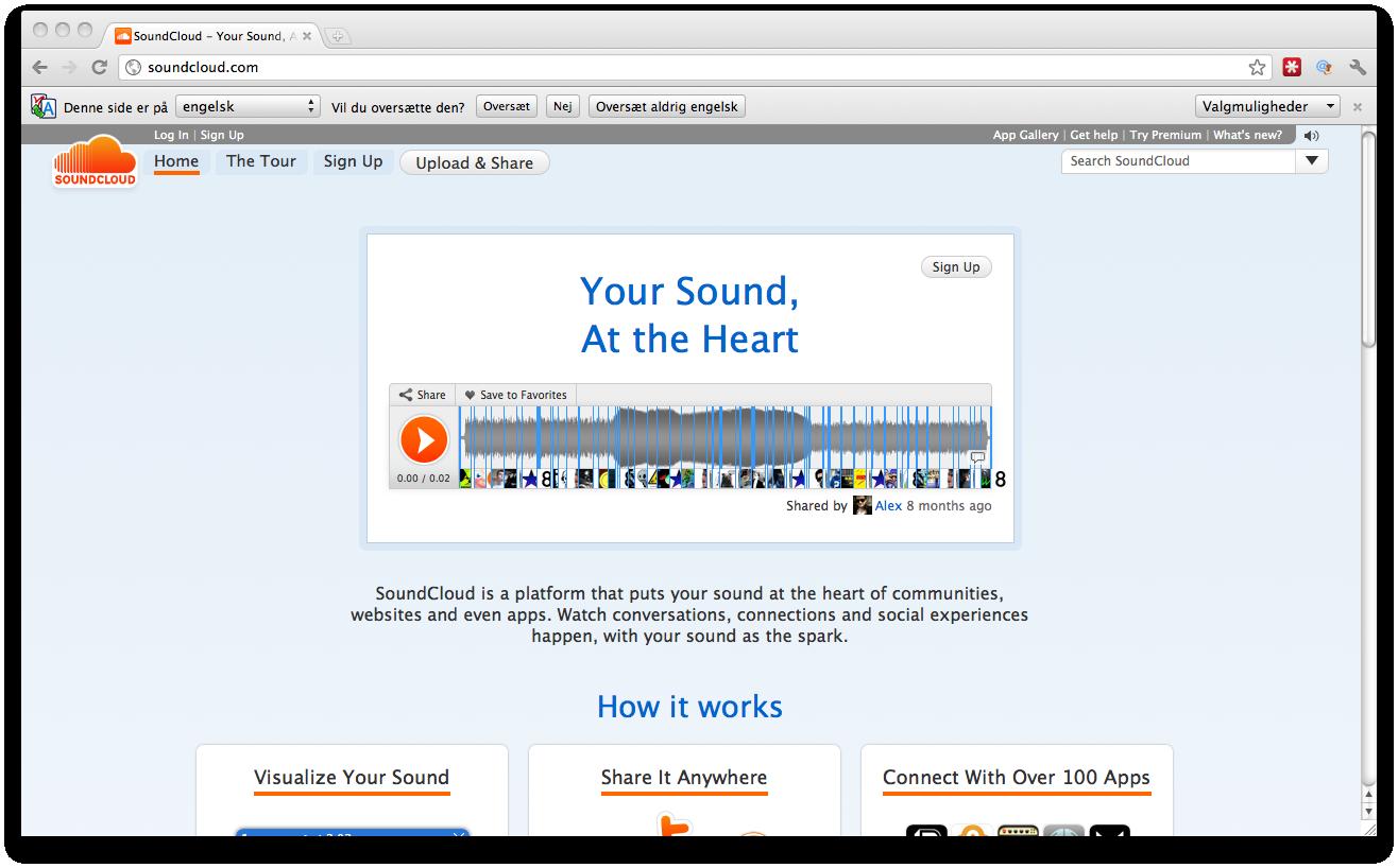 Update – Vores naboer Soundcloud får $50 mill. i investering