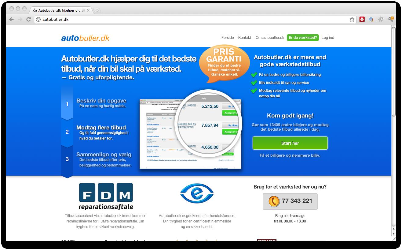Autobutler.dk – Startupbootcamp skabte det rigtige fundament