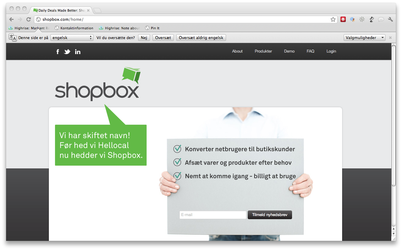 Update – Seed Capital tror på social buying platformen Shopbox