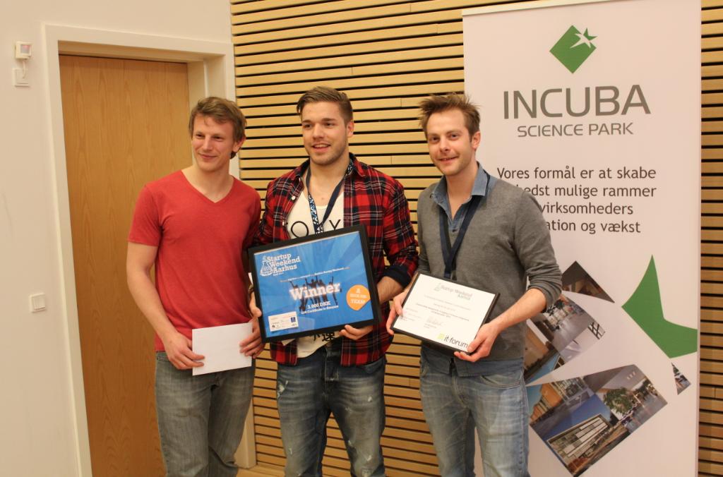 Startup Weekend – og vinderen er…