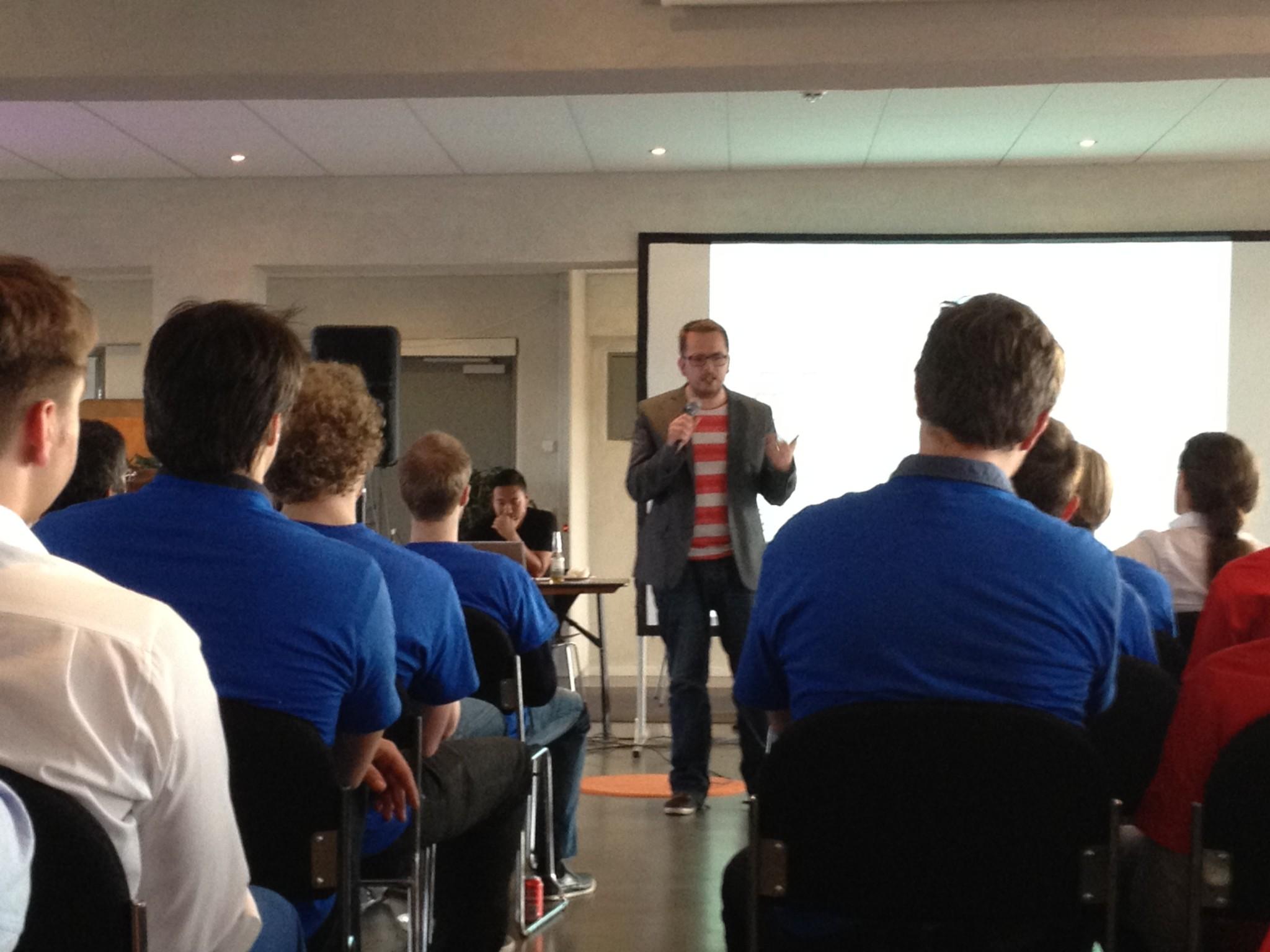 Startup Weekend – intro fra Thomas Madsen-Mygdal og Ted Zoller