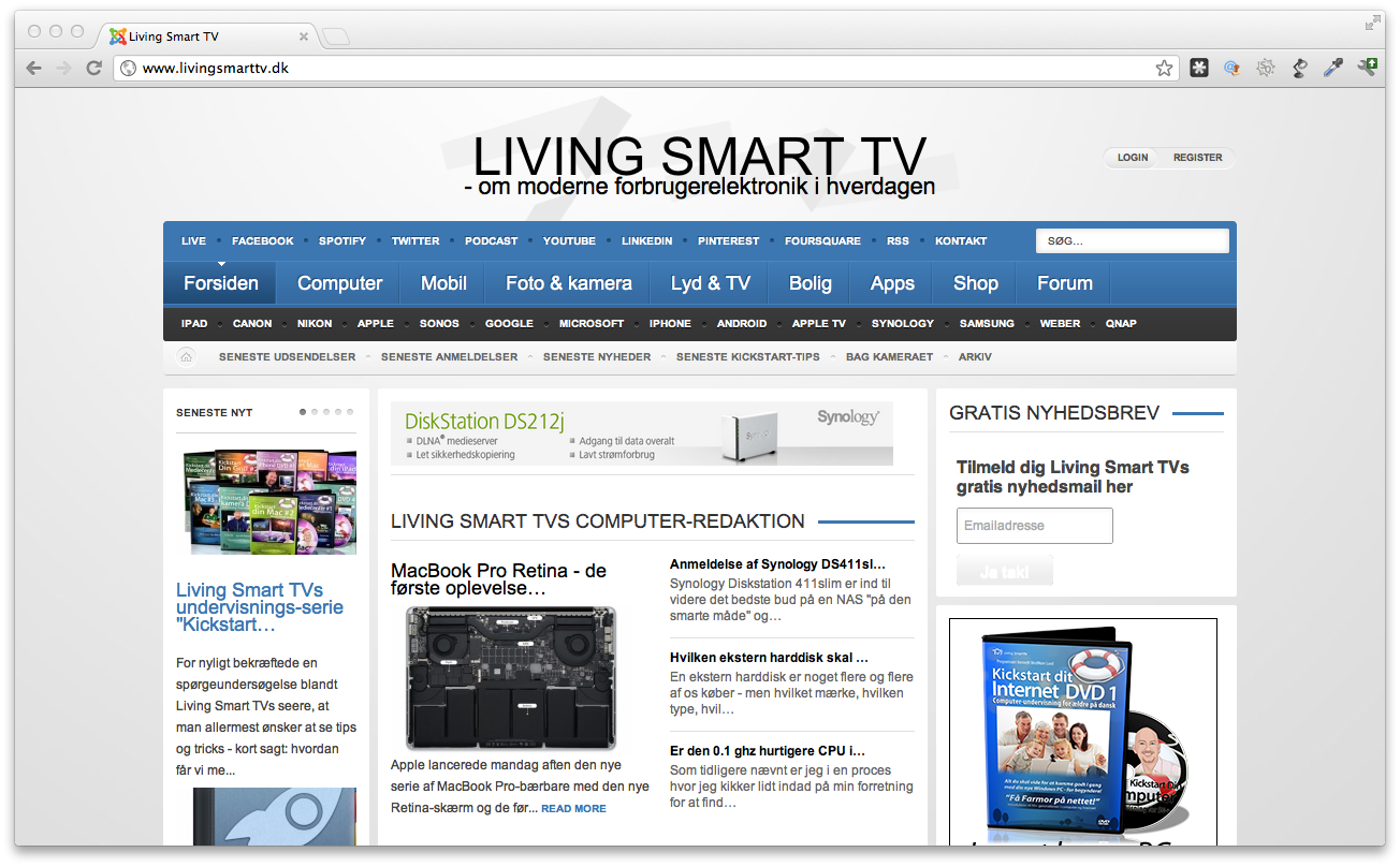 Podcast # 92 – Interview med Kenneth Lund – Livingsmarttv