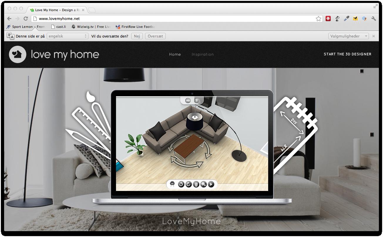 Startup virksomheden LoveMyHome skaber forretning til møbelbranchen