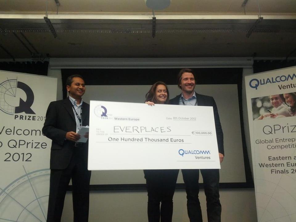 Breaking news: Everplaces vinder 100.000 euro i stor startup konkurrence