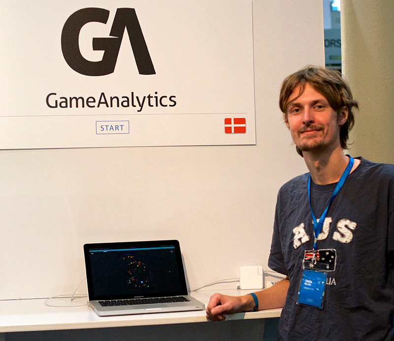 Interview med GameAnalytics på Websummit i Dublin