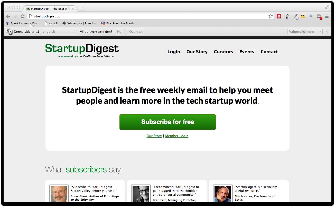 Startupdigest åbner i Aarhus