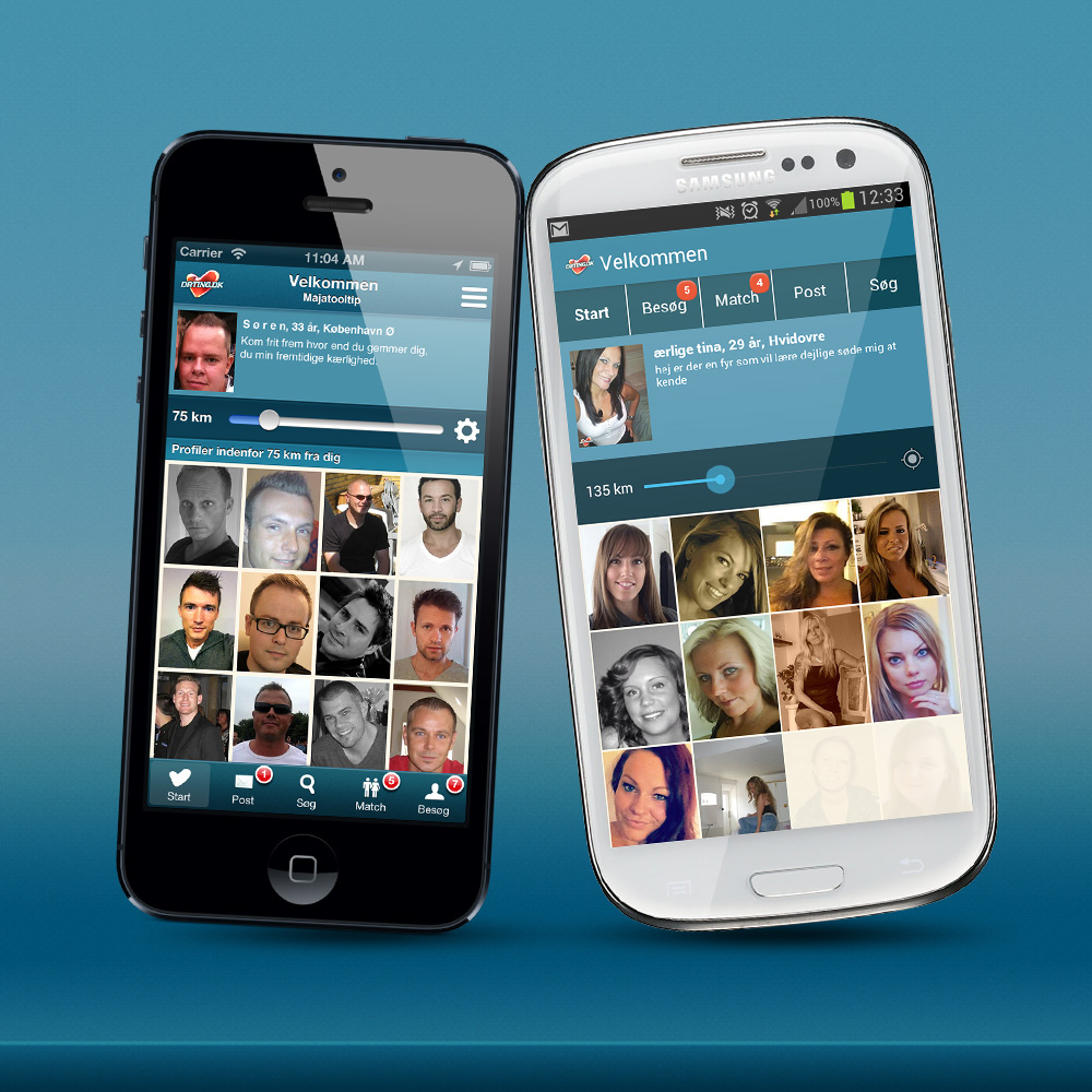 Dating.dk introducerer mobildating