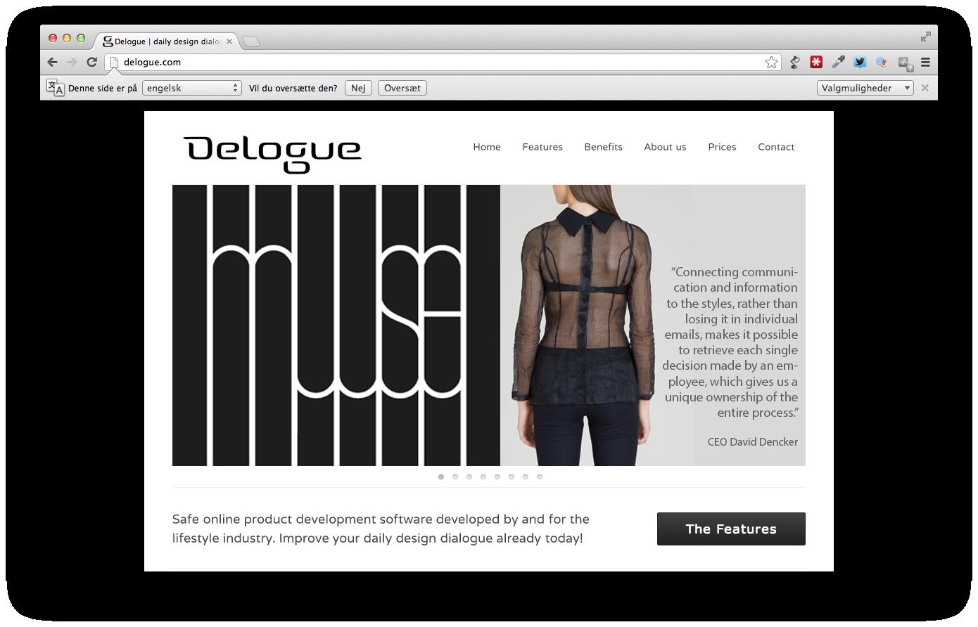 Det danske startup Delogue vil strukturere modebranchen
