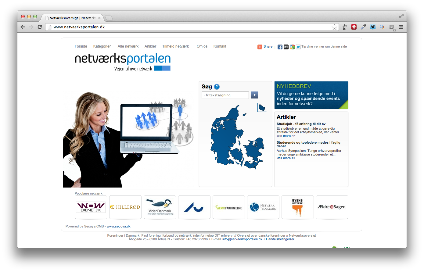 Netværksportalen – et Corporate Take Off