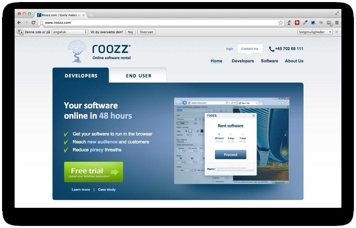 Accelerace investerer i Roozz, der lader software køre direkte i browseren