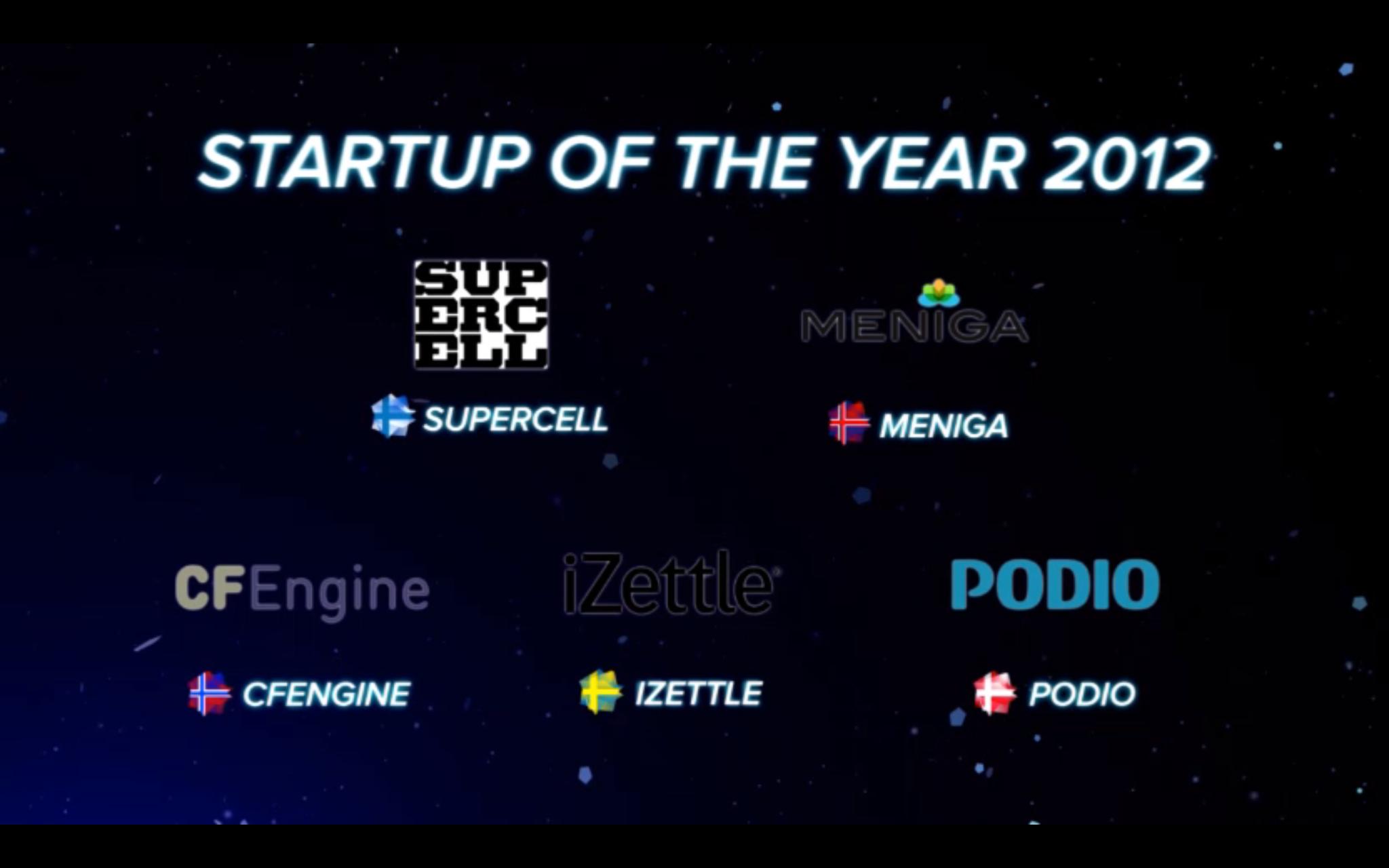 Nordic Startup Awards – Aftenen i billeder