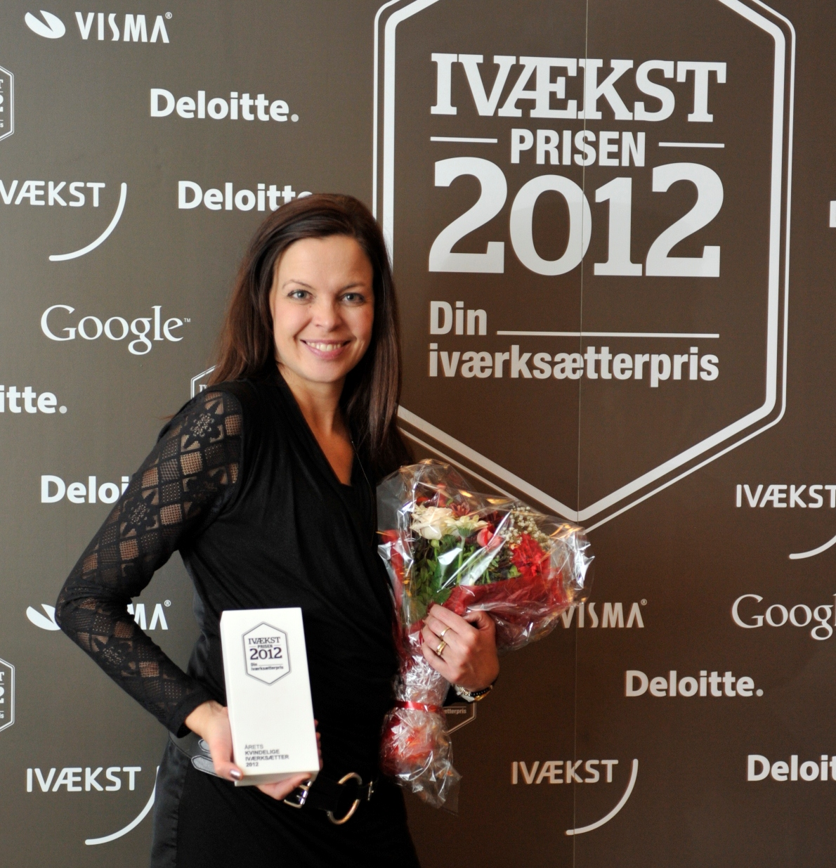 Camilla Ley Valentin fra Queue-It vinder Ivækstpris
