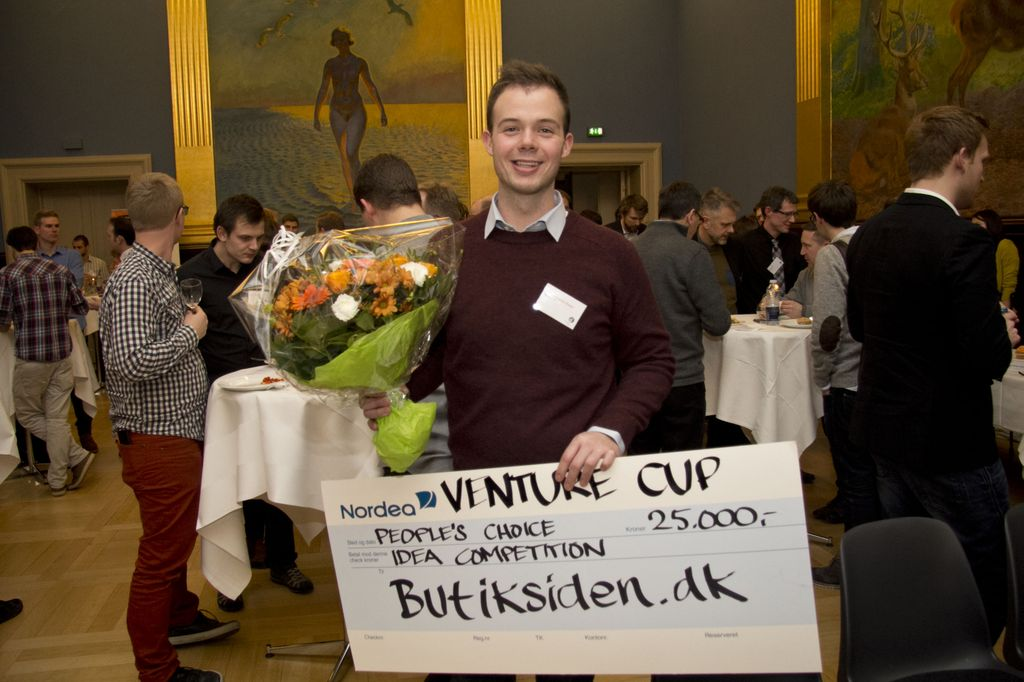 Mindre madspild vandt publikums hjerter ved Venture Cup