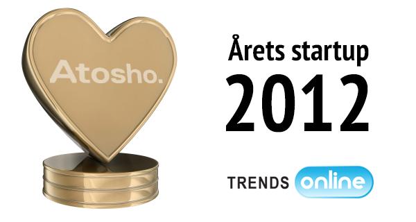 Atosho vinder Trendsonline.dk prisen – Årets startup 2012