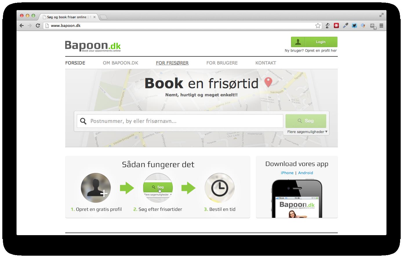 Fuld fart på Bapoon.dk