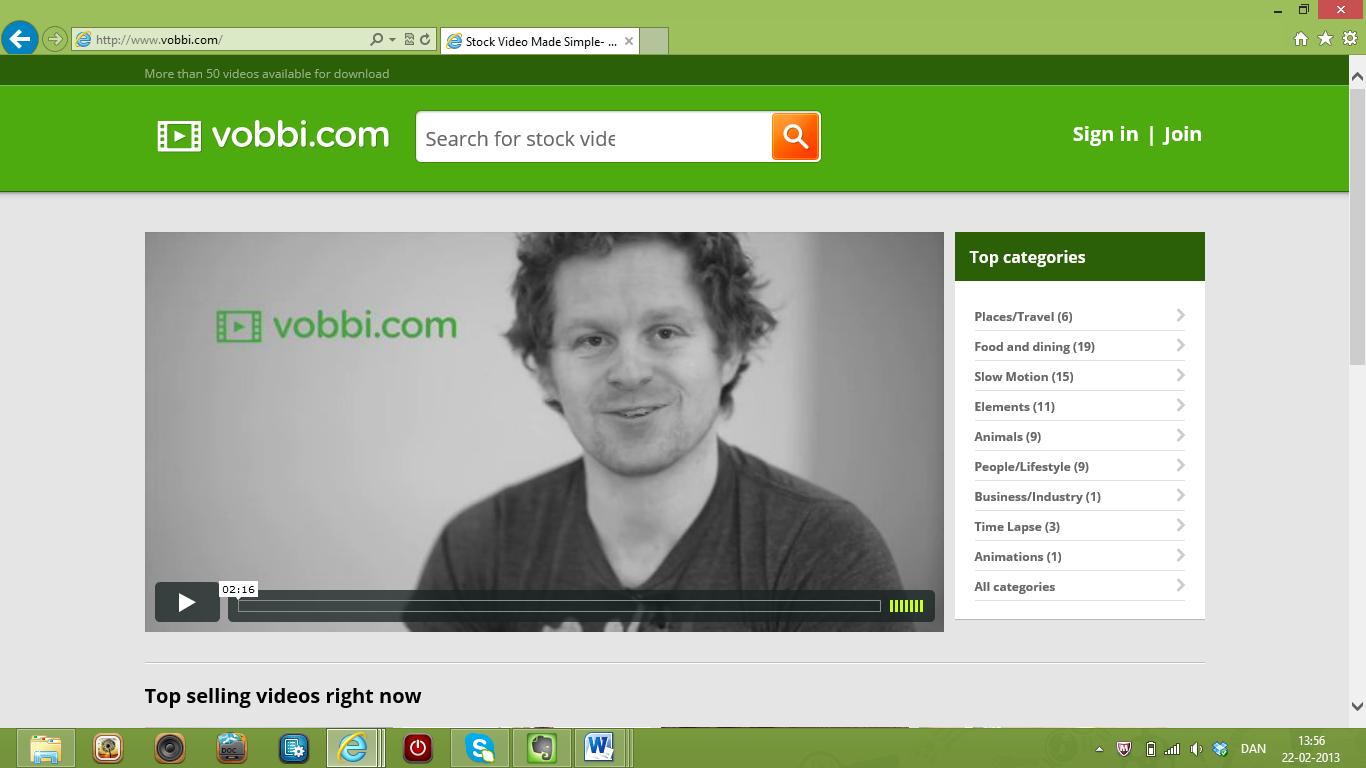 Startup Highlight: vobbi.com
