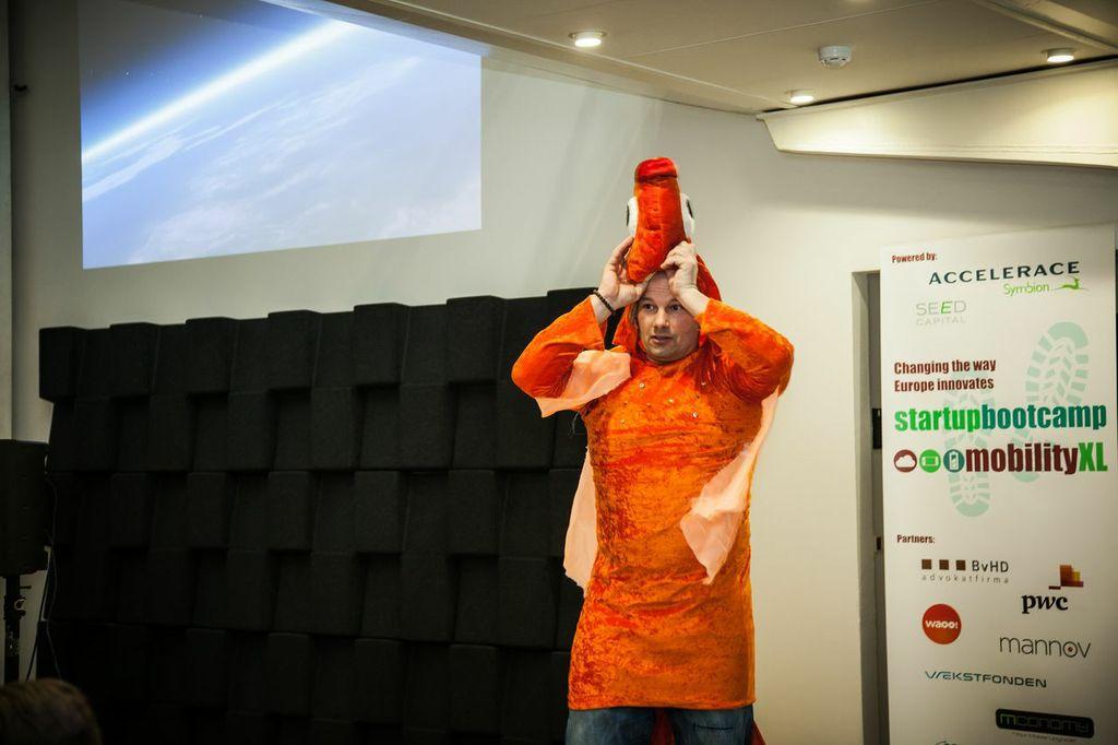 Startupbootcamp mentorday i København bød også på Harlem Shake