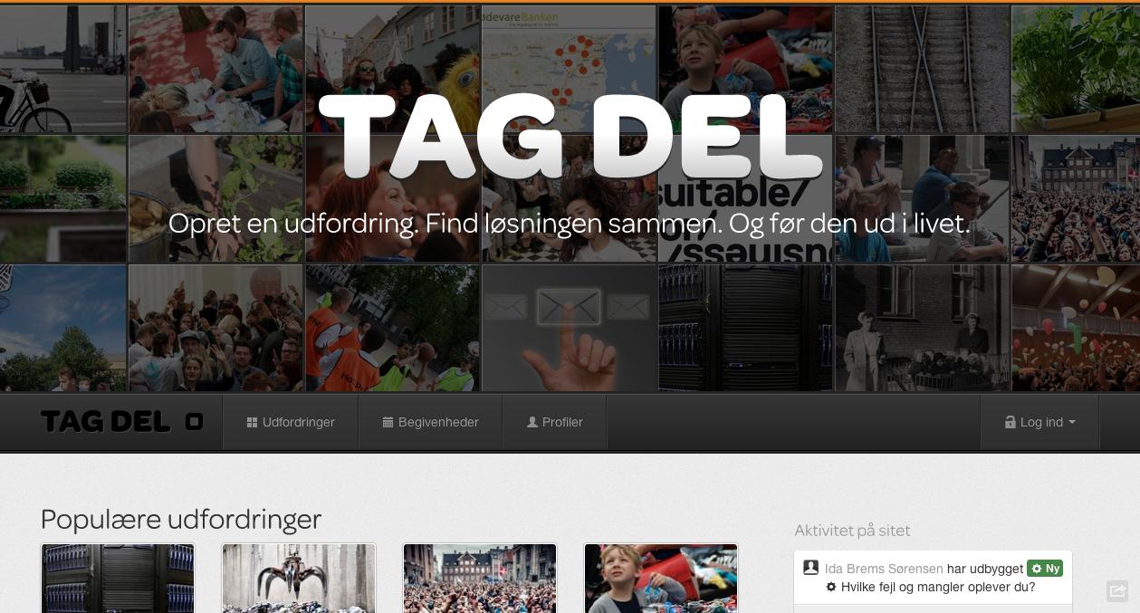 Tagdel.dk – en ny platform for sociale løsninger