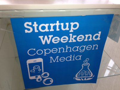 Video: Status på Startup Weekend Copenhagen Media fredag