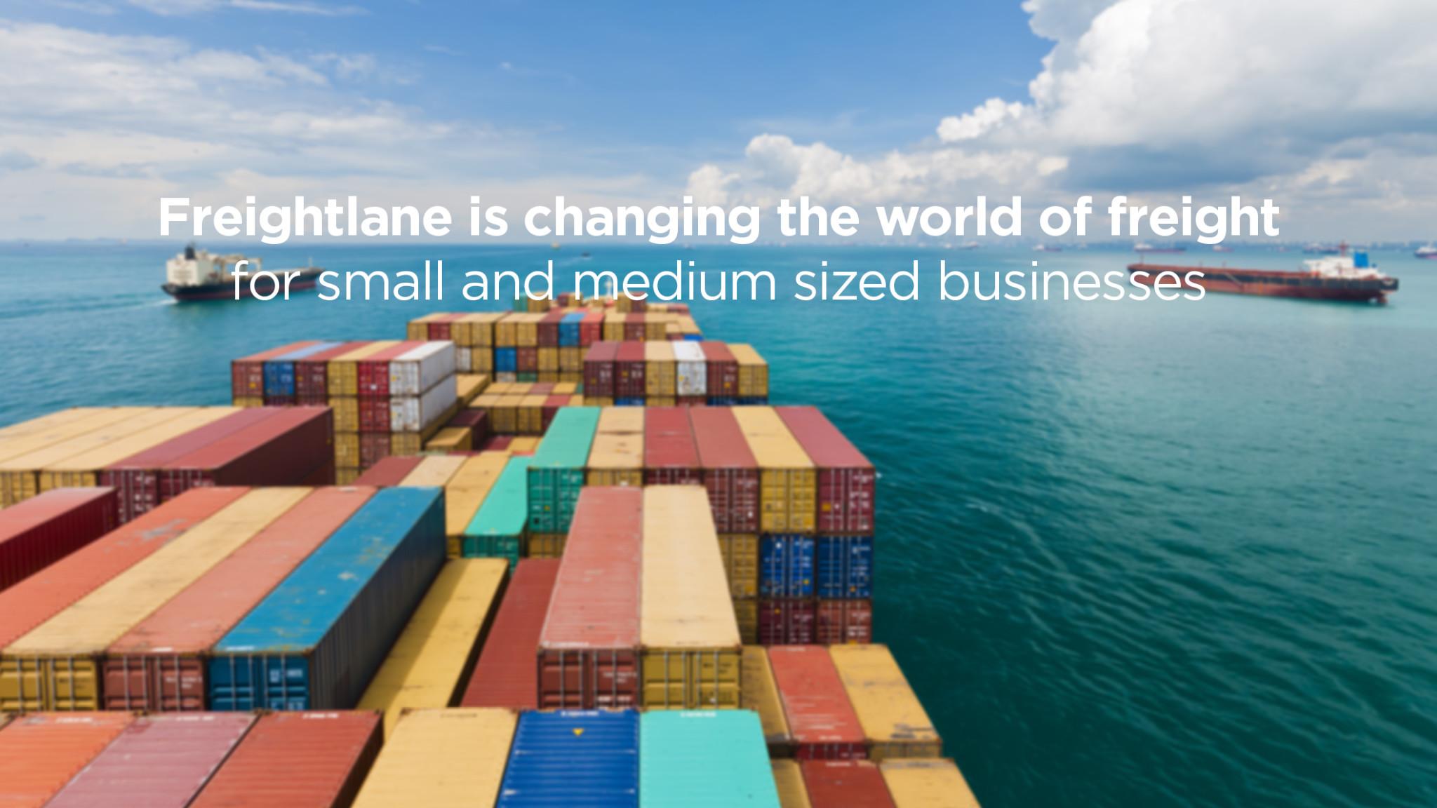 FREIGHTLANE.COM – intelligent fragtplatform for små og mellemstore virksomheder