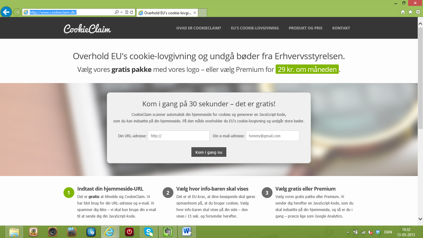 Aarhus-iværksættere udvikler tjeneste til overholdelse af EU's cookie-lovgivning
