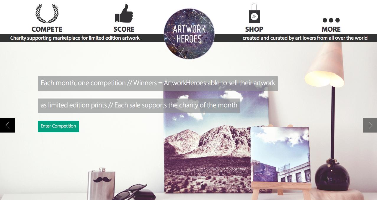 ArtworkHeroes – online markedsplads for limited edition illustrationer
