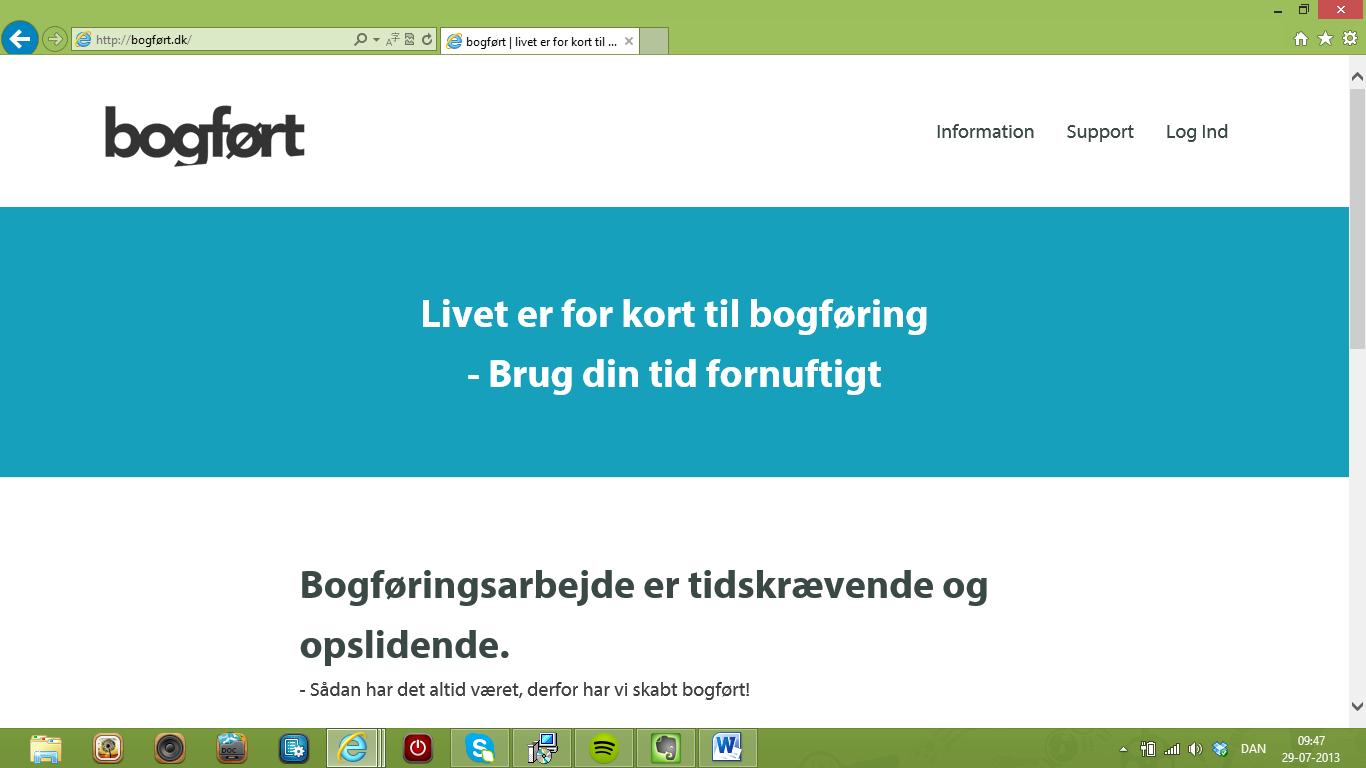 Simpel bogføring med Bogført.dk