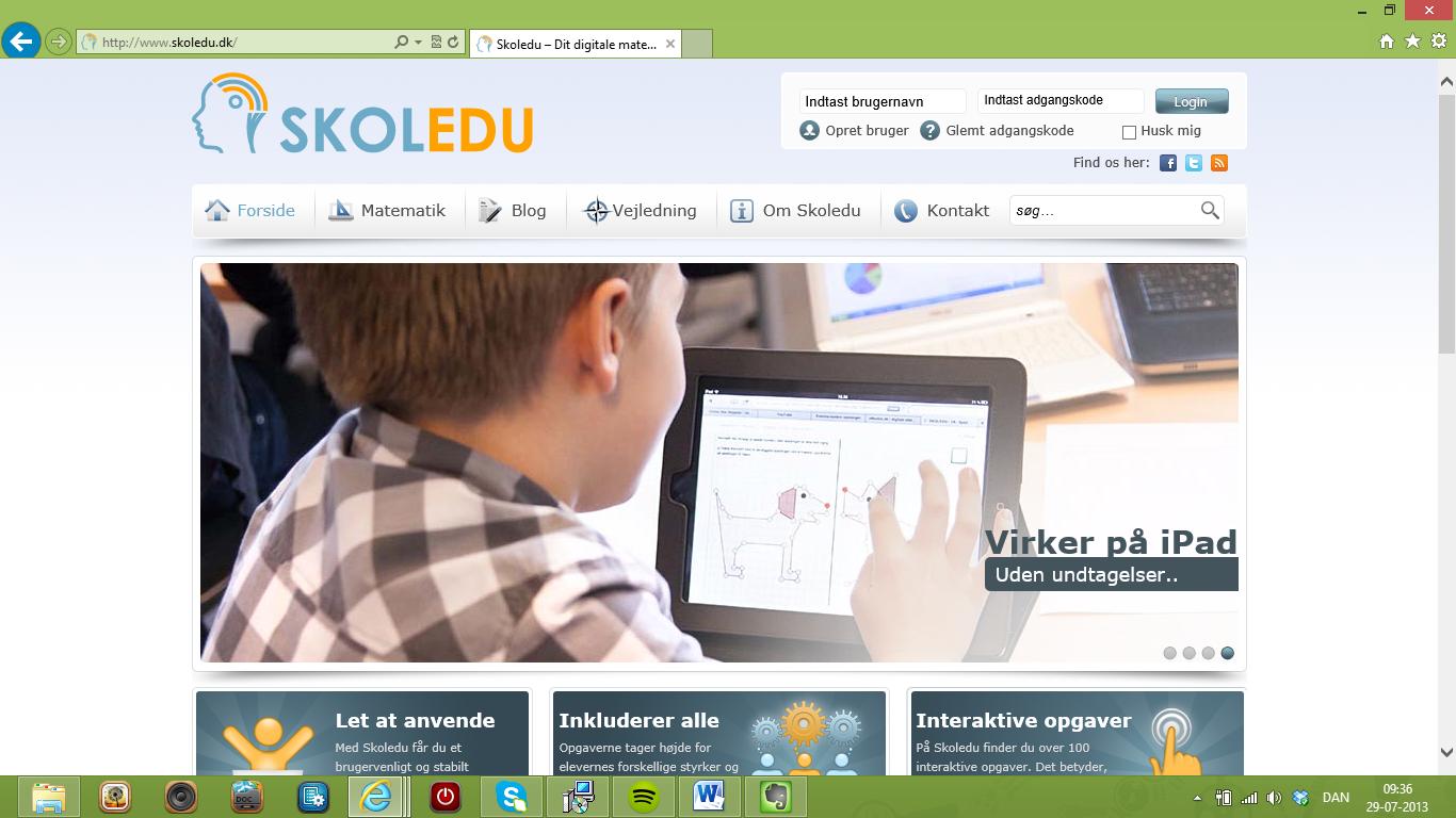 Skoledu.dk – et digitalt og interaktivt matematiksystem