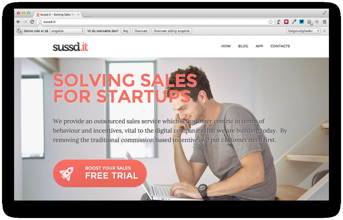 Sussd.it vil hjælpe startups til at sælge endnu mere