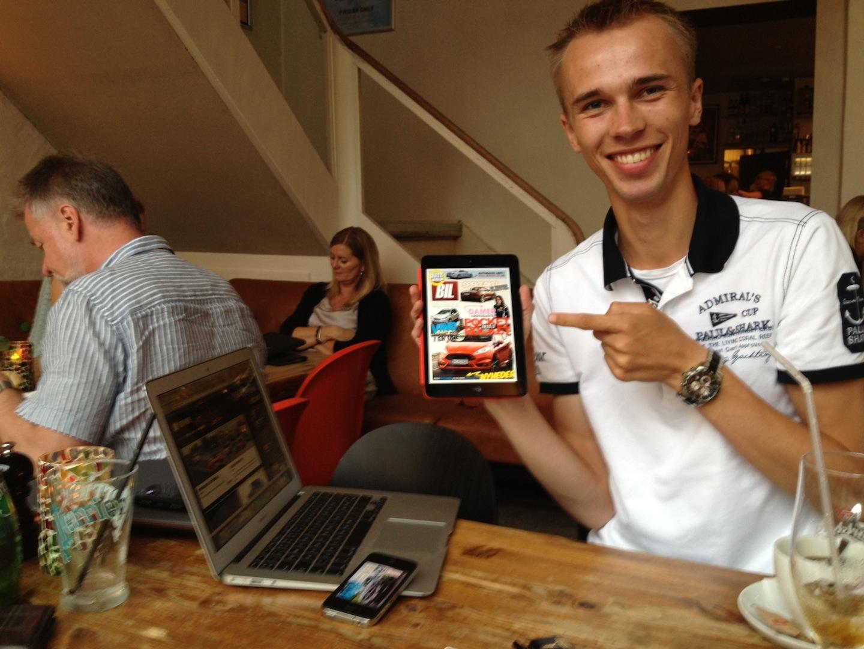 Bilsektionen vil overhale den danske mediebranche med nyt ipad bilmagasin