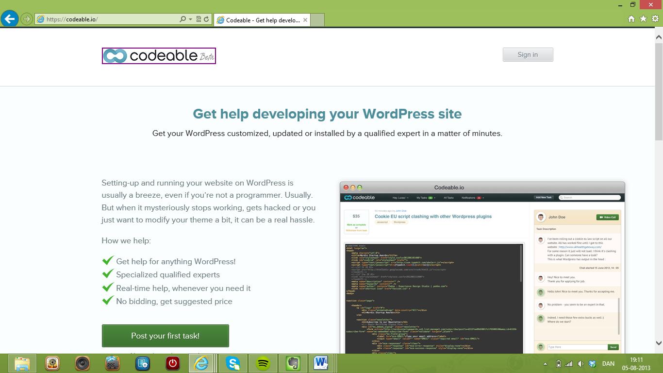 Codeable forbinder hjemmesideejere med WordPress-eksperter