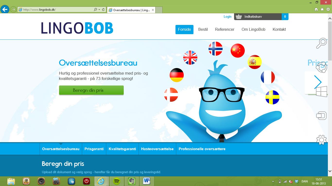 Lingobob innoverer oversættelsesbranchen