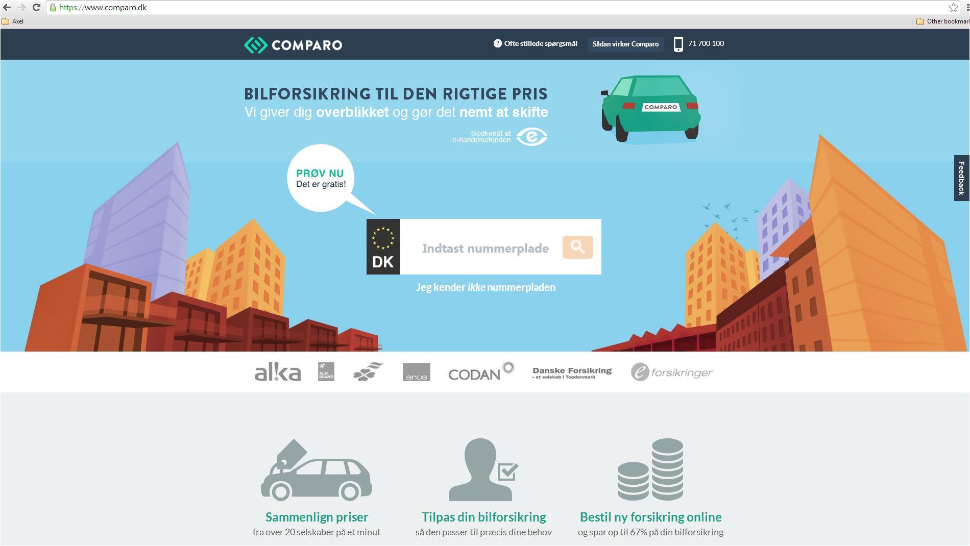 Northcap investerer i Nordic Consumer Portals der åbner dørene for første tjeneste
