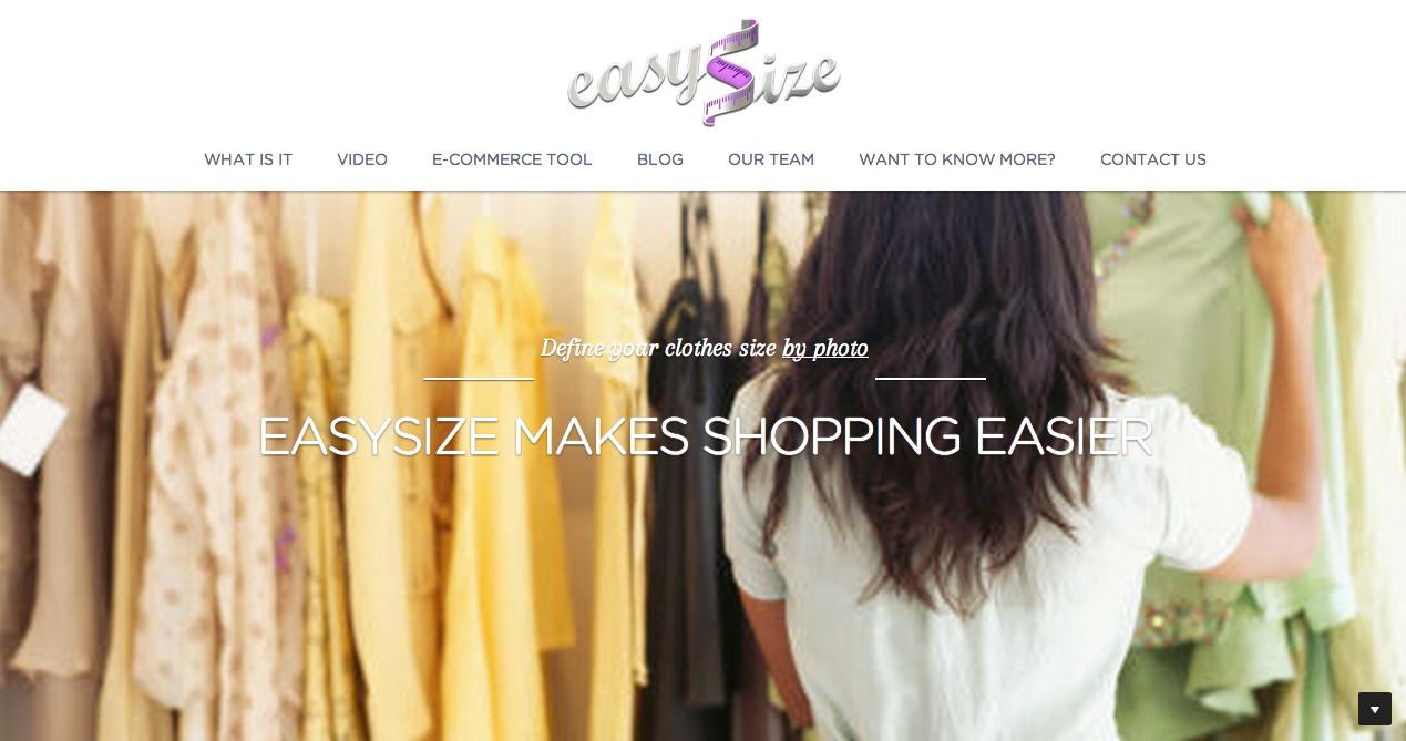 Easysize hjælper dig med at finde den rigtige størrelse