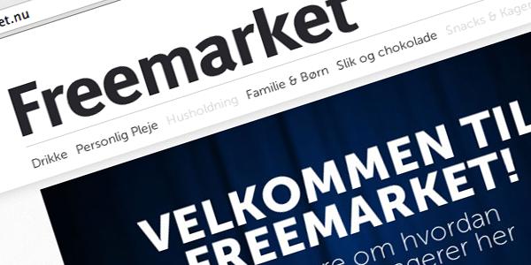 Hos Freemarket koster produkterne 0 kr.